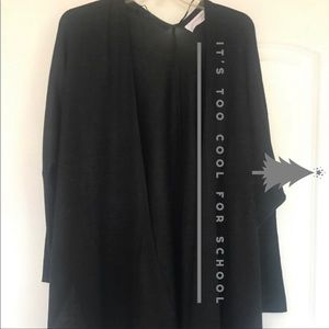 Sweaters - It's too cool for school Cardigan (black) NWOT